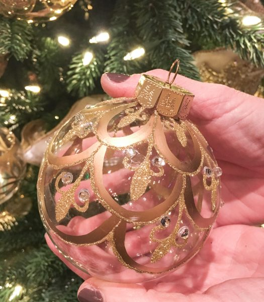 Biltmore Legacy Glass Ornament