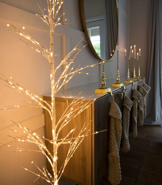 Winter Birch LED Tree