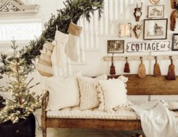 DIY garland by Liz Marie Blog