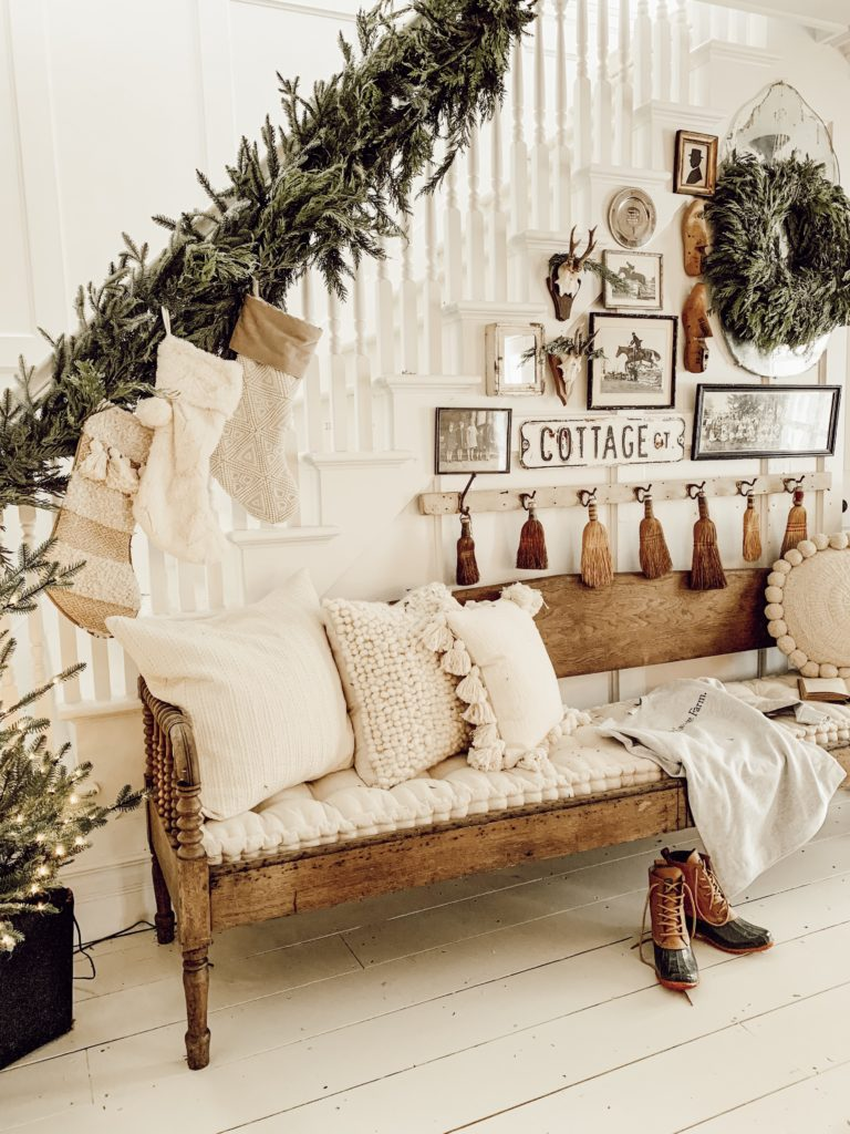 Liz Marie of Liz Marie Blog decorates with BH Fraser Fir