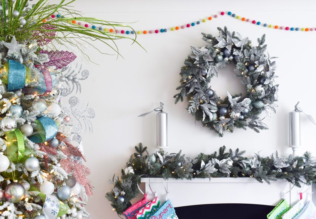 Silver Frost Wreath and Garland by Balsam Hill