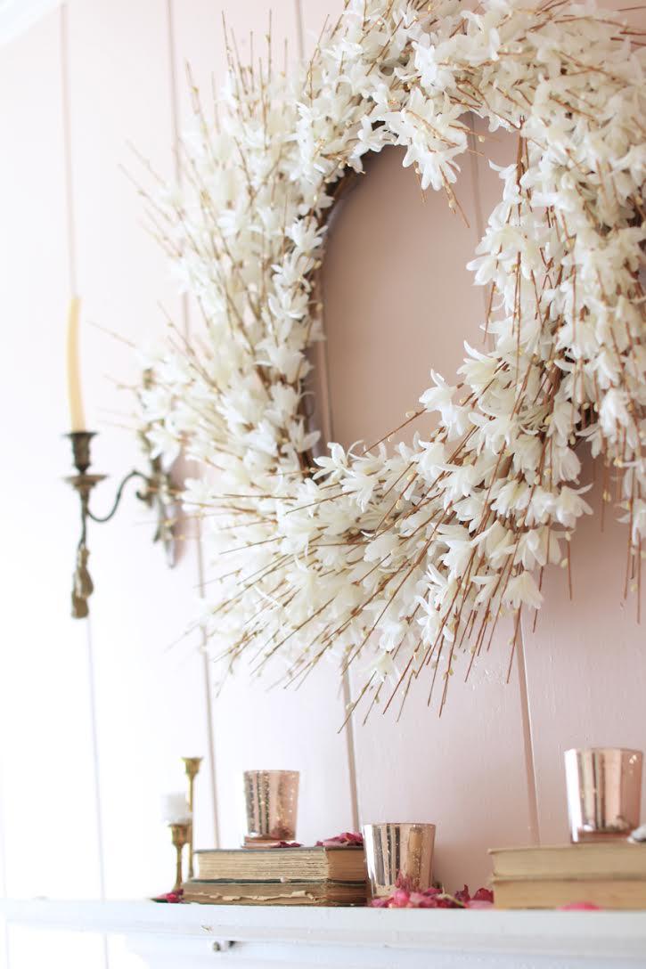 Balsam Hill white wreath