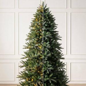 pre-lit versus unlit Christmas tree