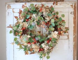 Balsam Hill Sunset Meadow Wreath Artificial Greenery