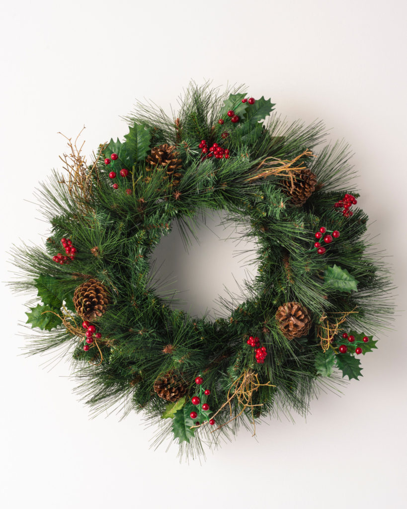 Balsam Hill Greenbrier Mountain Pine Wreath