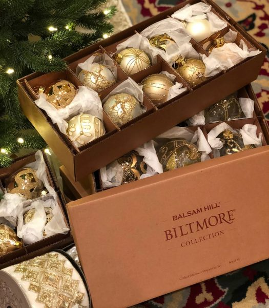 Balsam Hill Biltmore Ornament Set