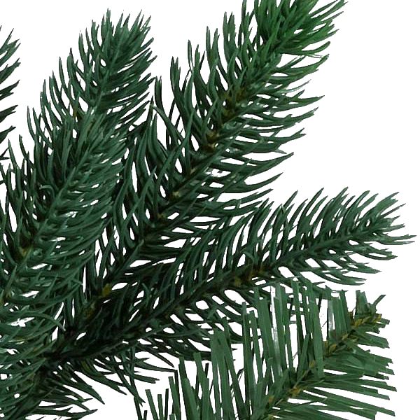 realistic foliage with PE and PVC needles
