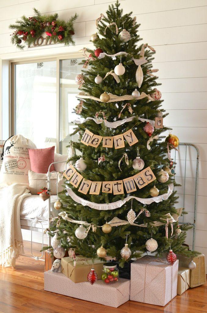 Sarah of Sarah Joy's Calistoga Fir Slim Pre Fluffed Tree
