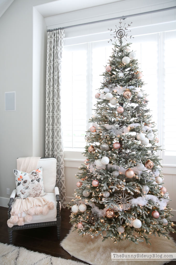Erin of Sunny Side Up's Frosted Fraser Fir