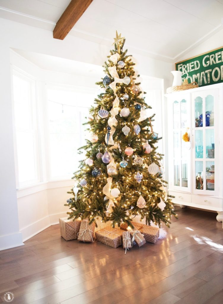 Ashley of Handmade Home's Vermont White Spruce Flip Tree