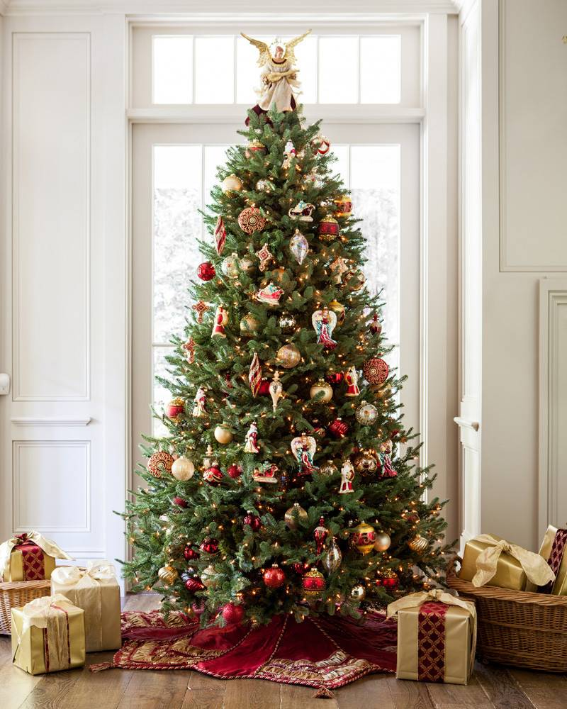 Balsam Hill BH Balsam Fir Tree Decorated Black Friday Sale
