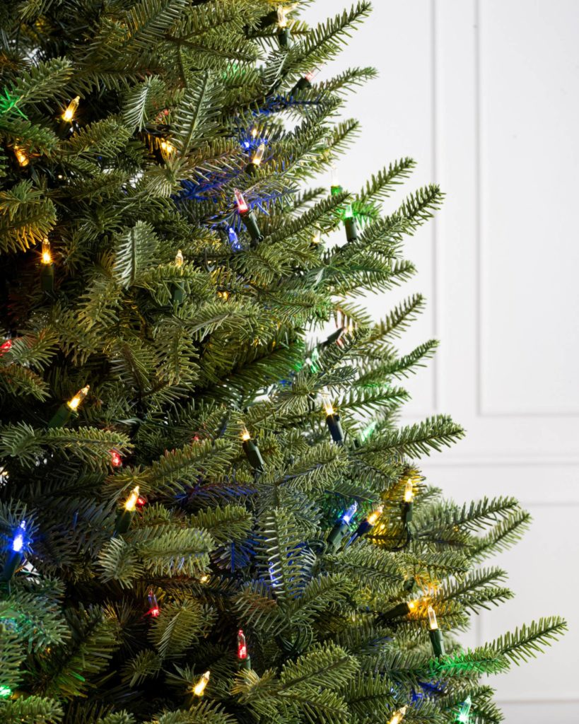 Balsam Hill BH Balsam Fir Flip Tree Closeup Black Friday Sale