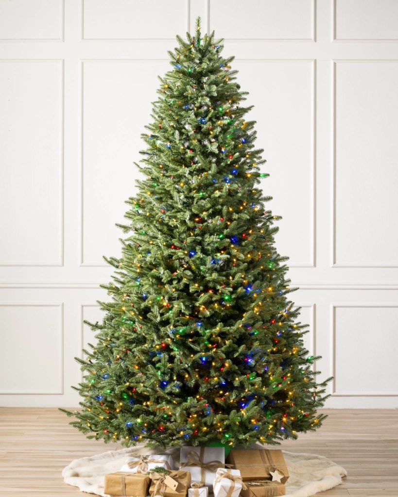 Balsam Hill BH Balsam Fir Flip Tree Undecorated Black Friday Sale