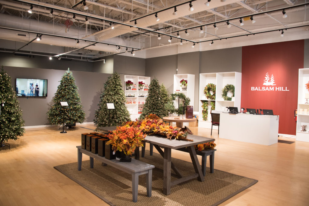 Balsam Hill Store Experience The Most Realistic Christmas