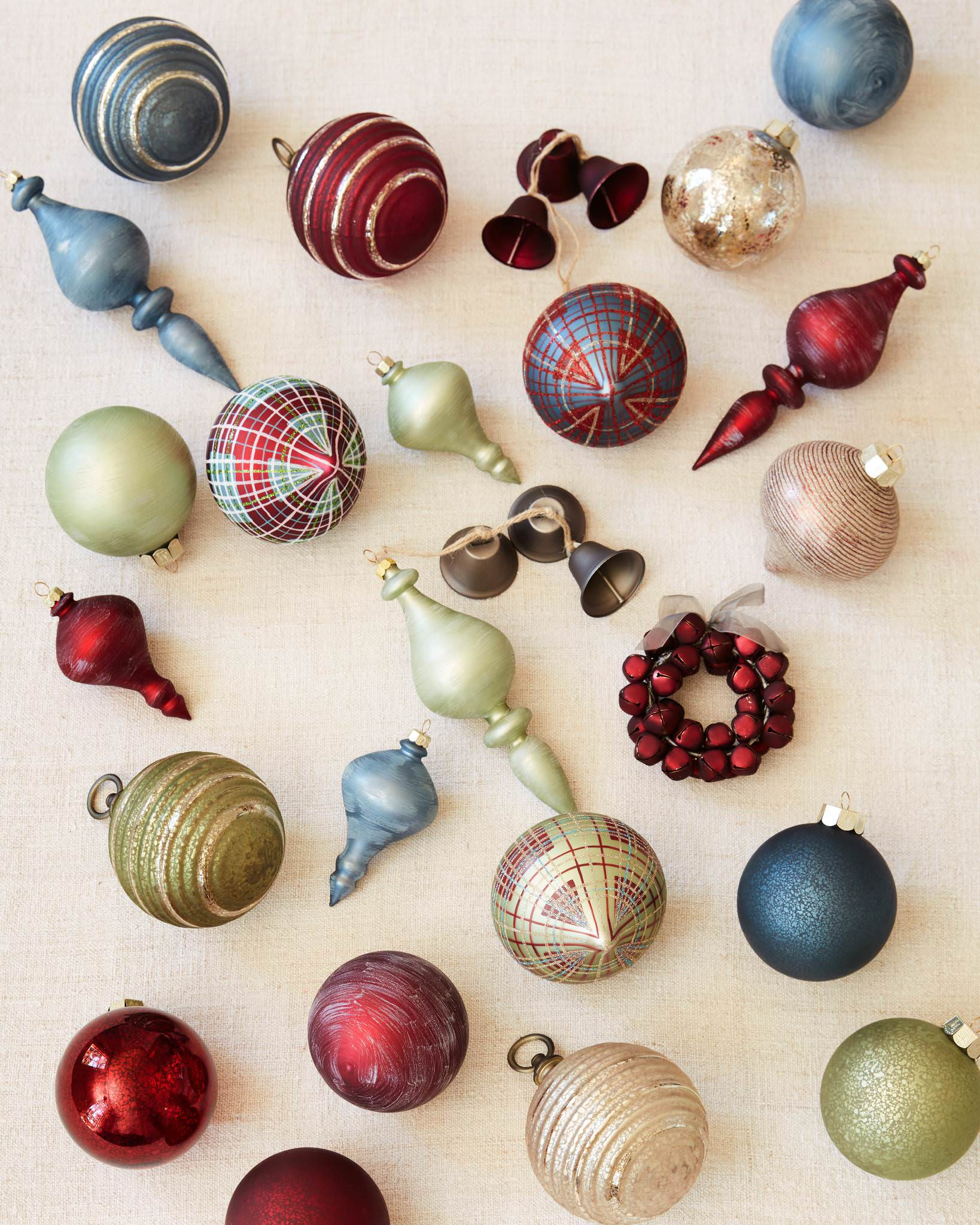 Farmhouse Christmas Ornaments