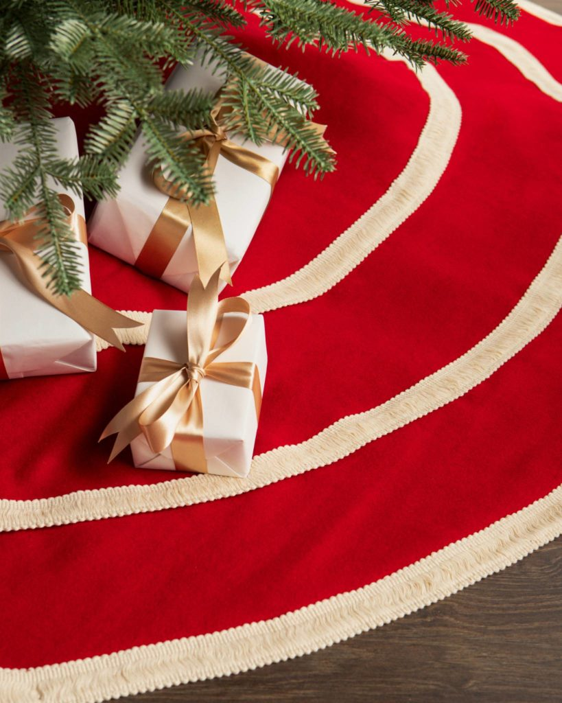 Balsam Hill Peppermint Tree Skirt Black Friday Sale