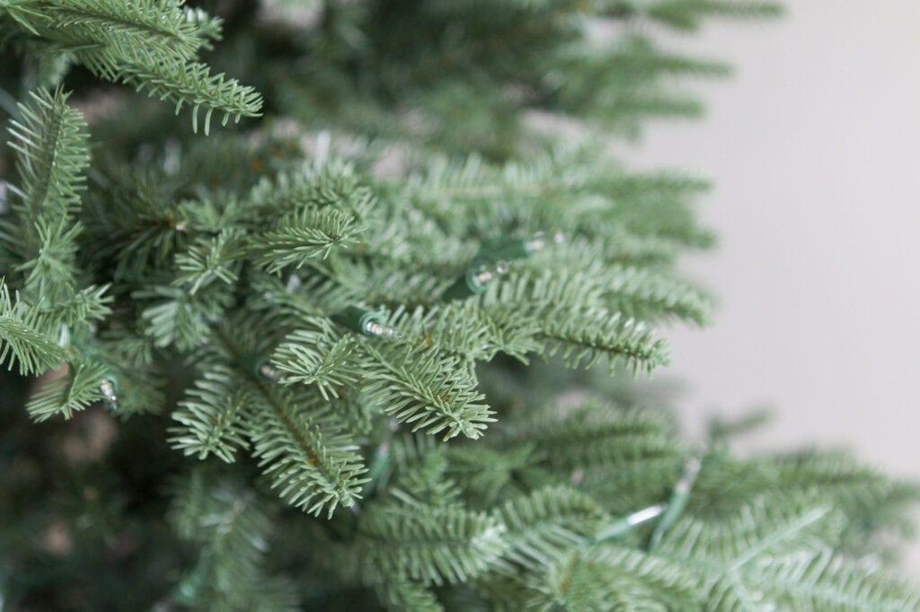 Big-Box Store Trees vs. Balsam Hill Trees
