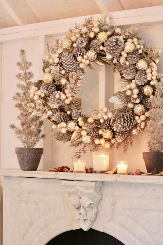 Balsam Hill Gilded Glamour Wreath