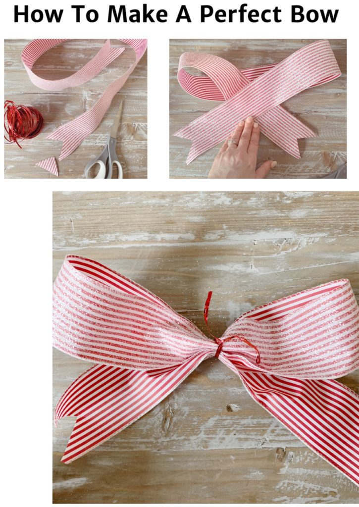 step by step how to make a ribbon