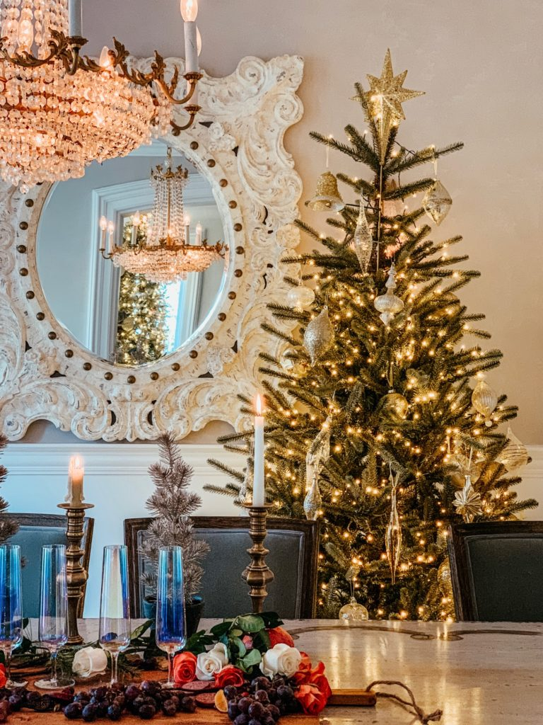 Nicole Miller Champagne Tree by Balsam Hill