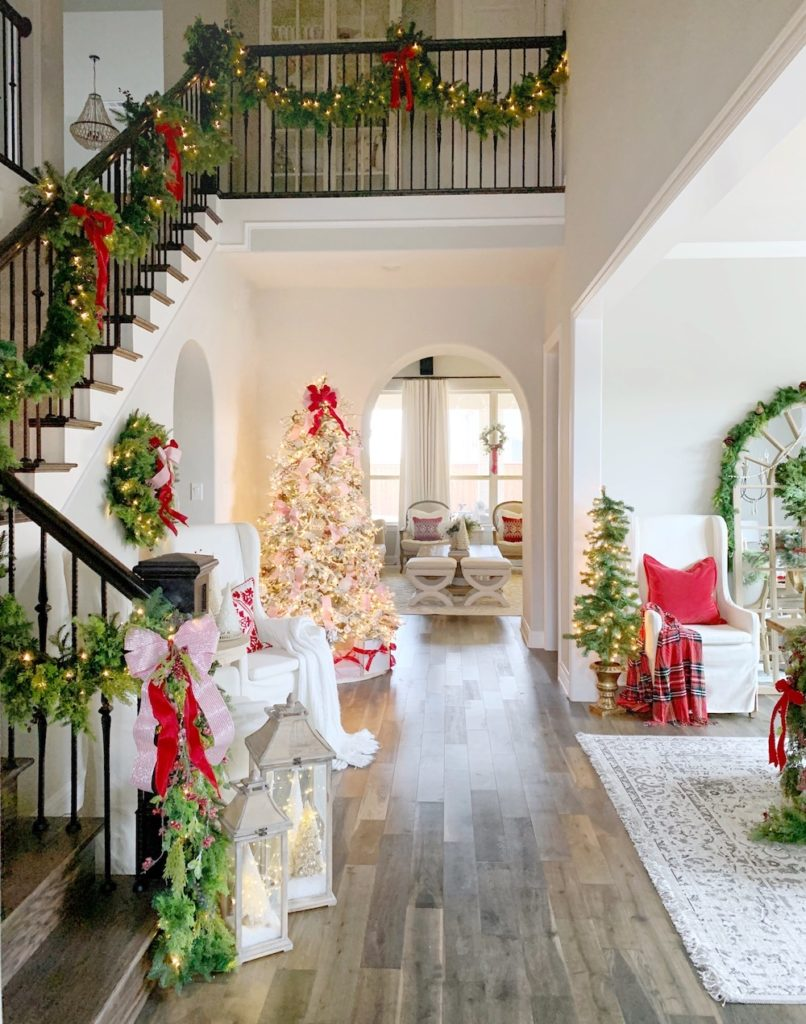 My Texas House displays Christmas decorations by Balsam Hill