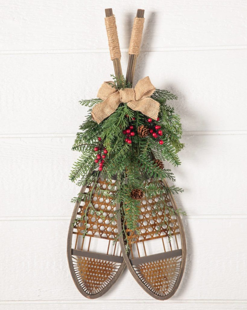 Balsam Hill Snow Shoes Christmas decorations clearance online