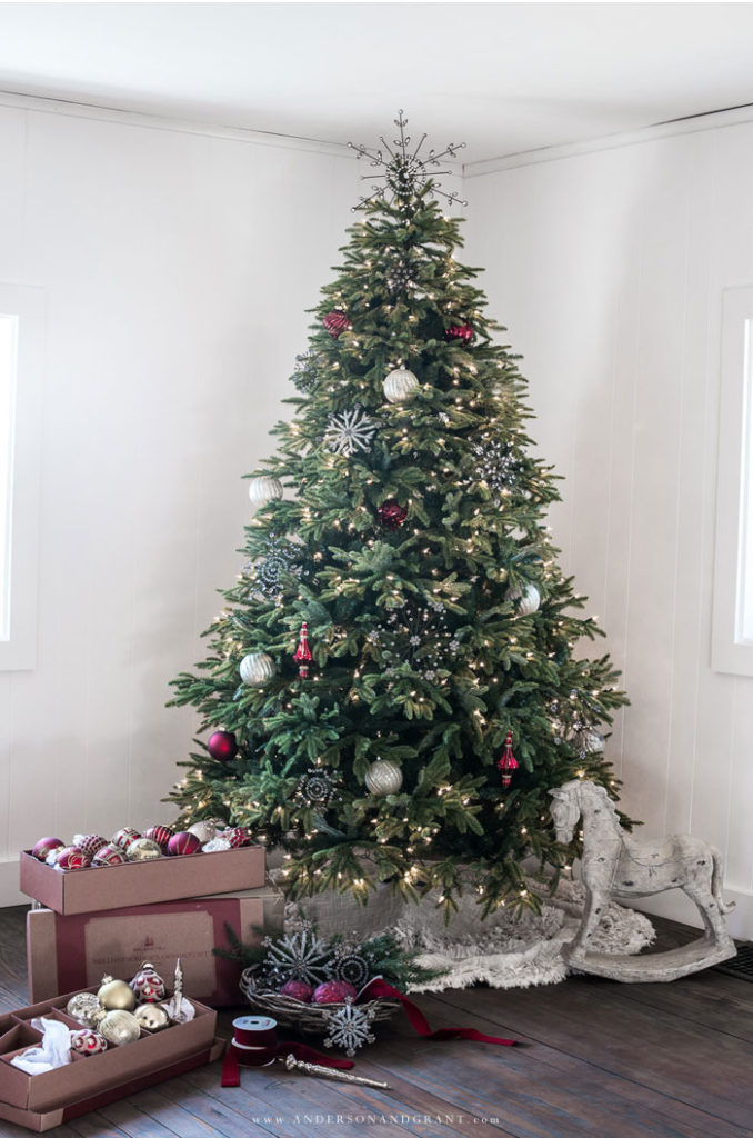 decorated BH Fraser Fir