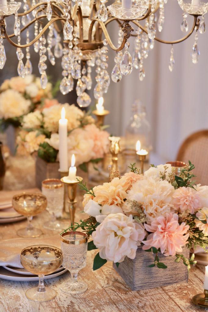 Balsam Hill Napa Romance floral arrangements
