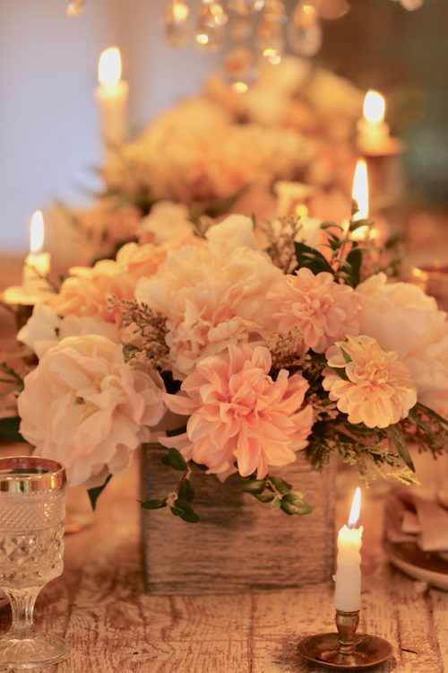 Napa Romance artificial floral arrangement