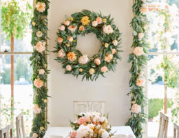 Home decorating idea with Napa Romance Foliage by Balsam Hill
