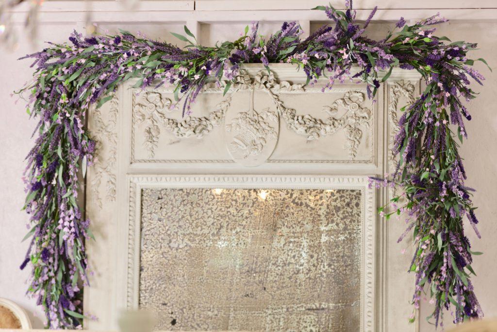 Balsam Hill Provencal Lavender Garland