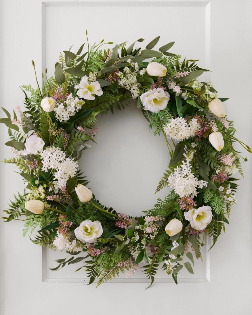 Balsam Hill Garden Party Wreath