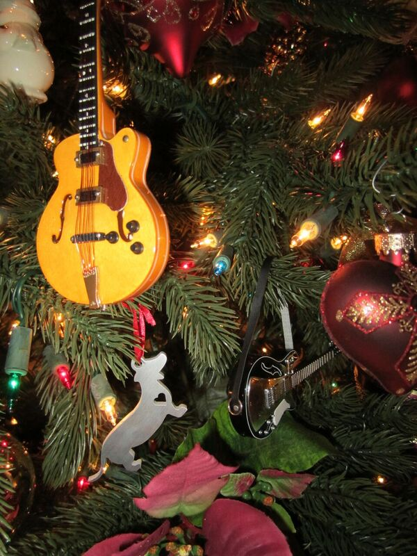 musical instrument tree ornaments
