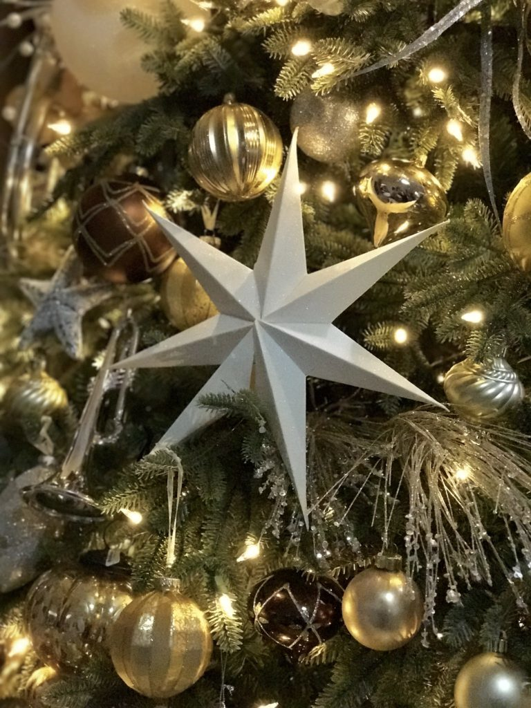 star christmas tree ornament