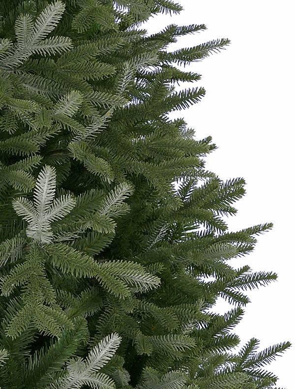 Closeup of Balsam Hill BH Fraser Fir Artificial Christmas Tree