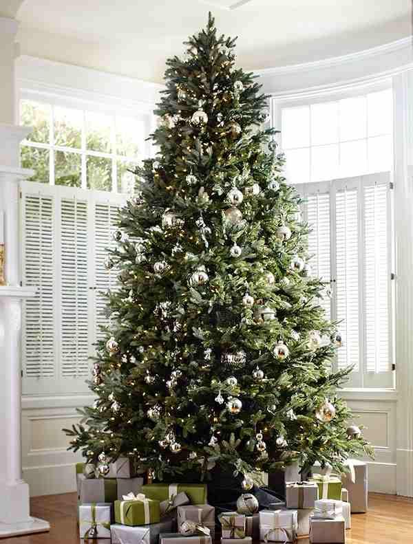 full shot of fraser fir artificial tree