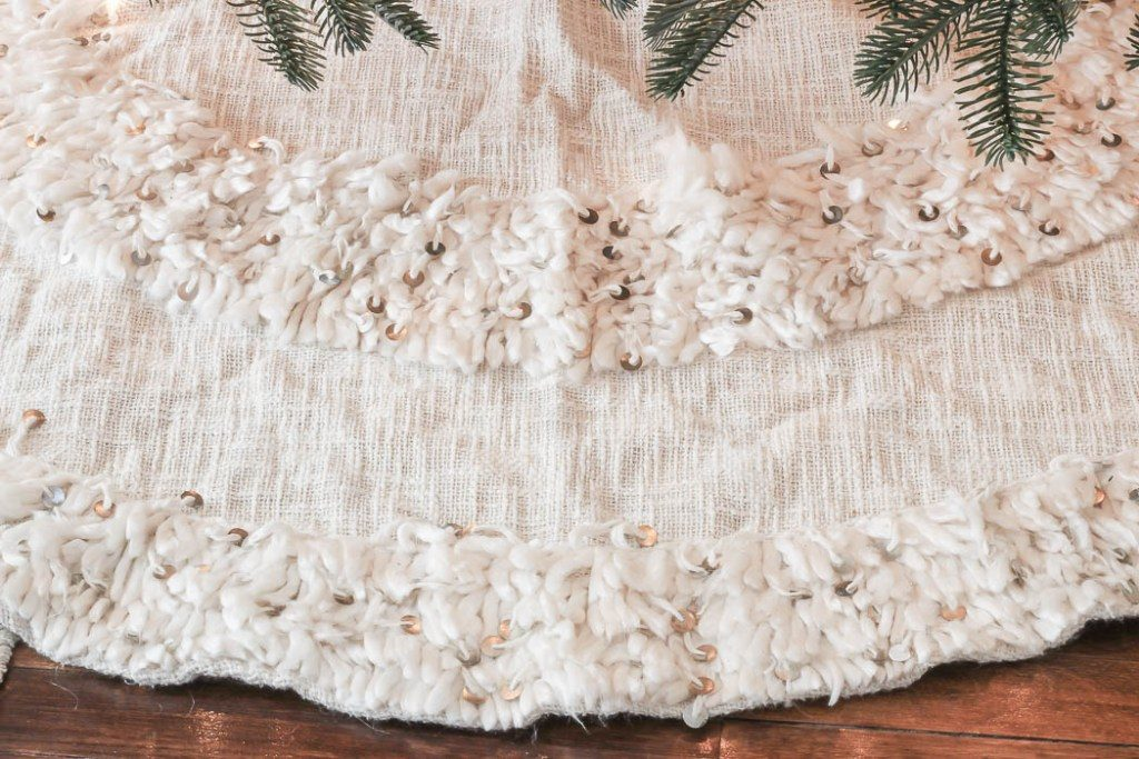 moroccan-inspired tree skirt