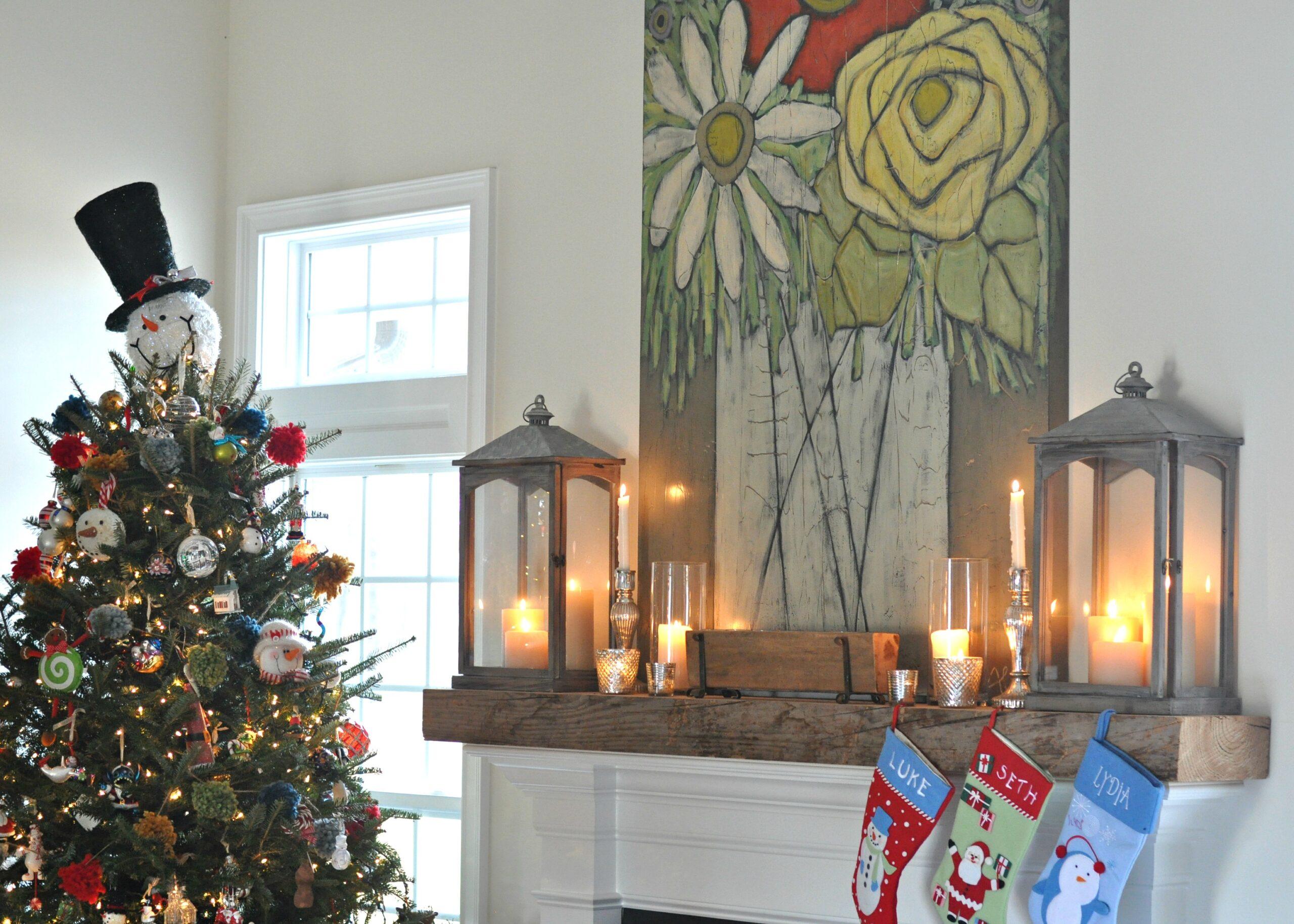 Snowman Christmas Tree Decorating Theme Balsam Hill Blog