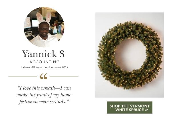 Vermont White Spruce Wreath