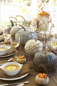 White and Green Pumpkins