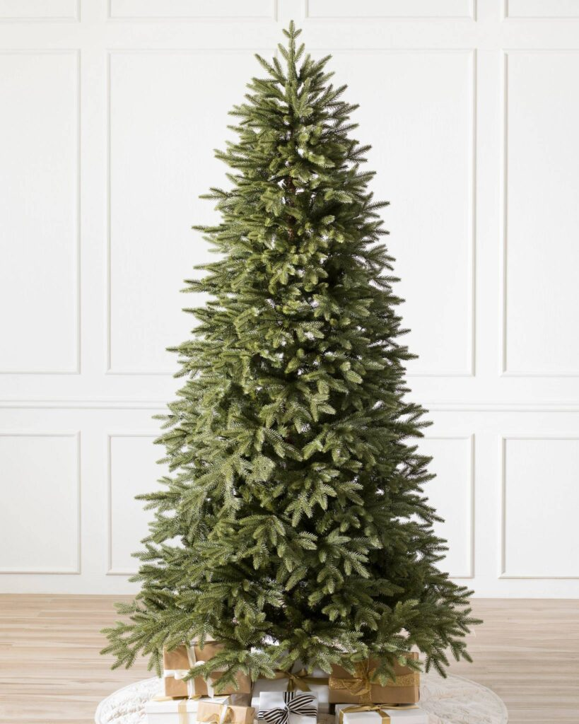 Full image of Balsam Hill Stratford Spruce Christmas Tree Unlit