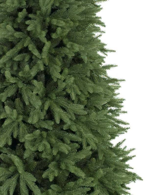 Closeup image of Balsam Hill Stratford Spruce Christmas Tree Unlit
