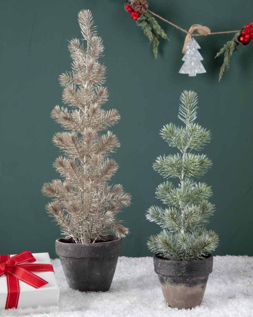 balsam hill tabletop potted spruce